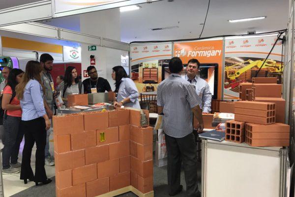 Feira de Construção Civil - Cerâmica Formigari Construsulminas